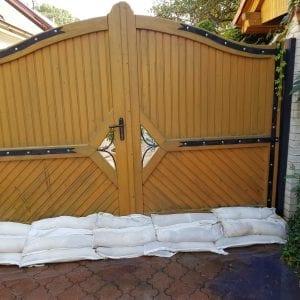 ochrana brány pred vodou