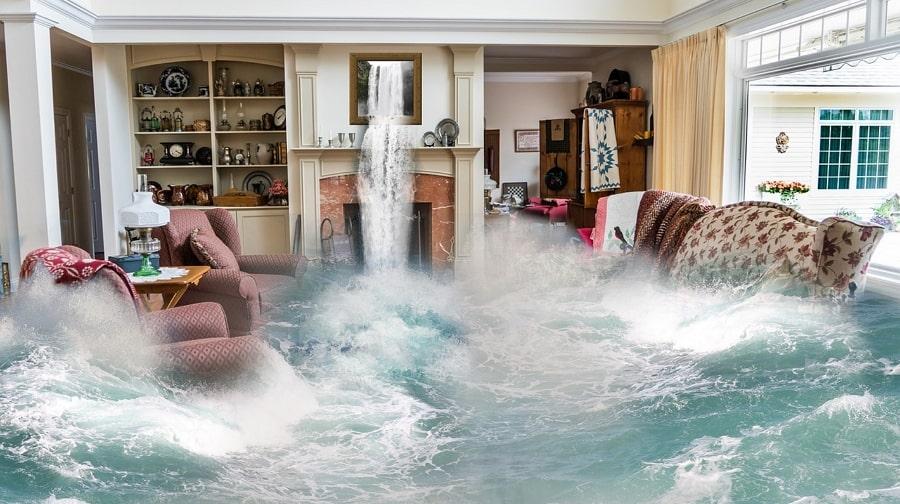 záplavy, povodne, domáce poruchy